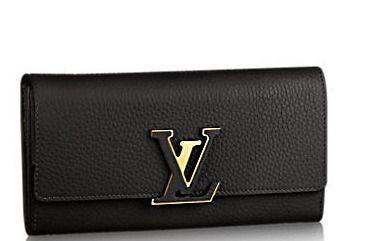 Louis Vuitton Long Wallets Cappuccino black long wallet 3   Louis ... 0d8cdcdfec0