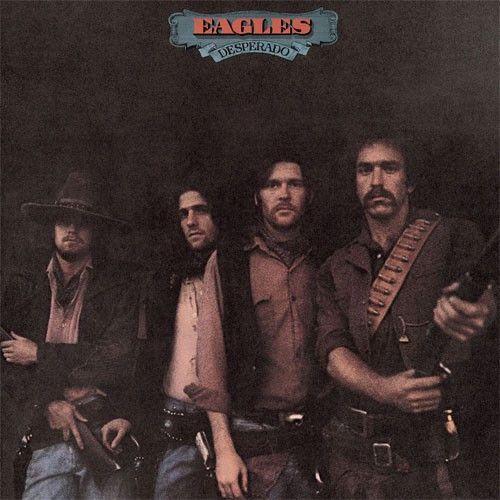 Lp Cover Desperado 1973 Their 2nd Album Rock Album Covers Eagles Albums Album Covers