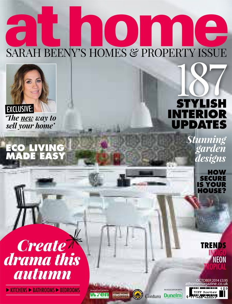 Garden featured in At Home magazine with Sarah Beeny