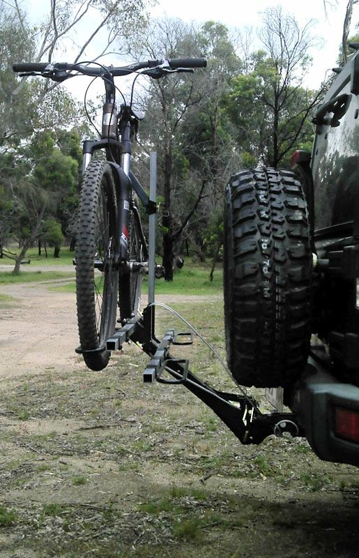 Jk Jeep Wrangler Bike Carrier Hitch Bike Rack Bike Rack Bike