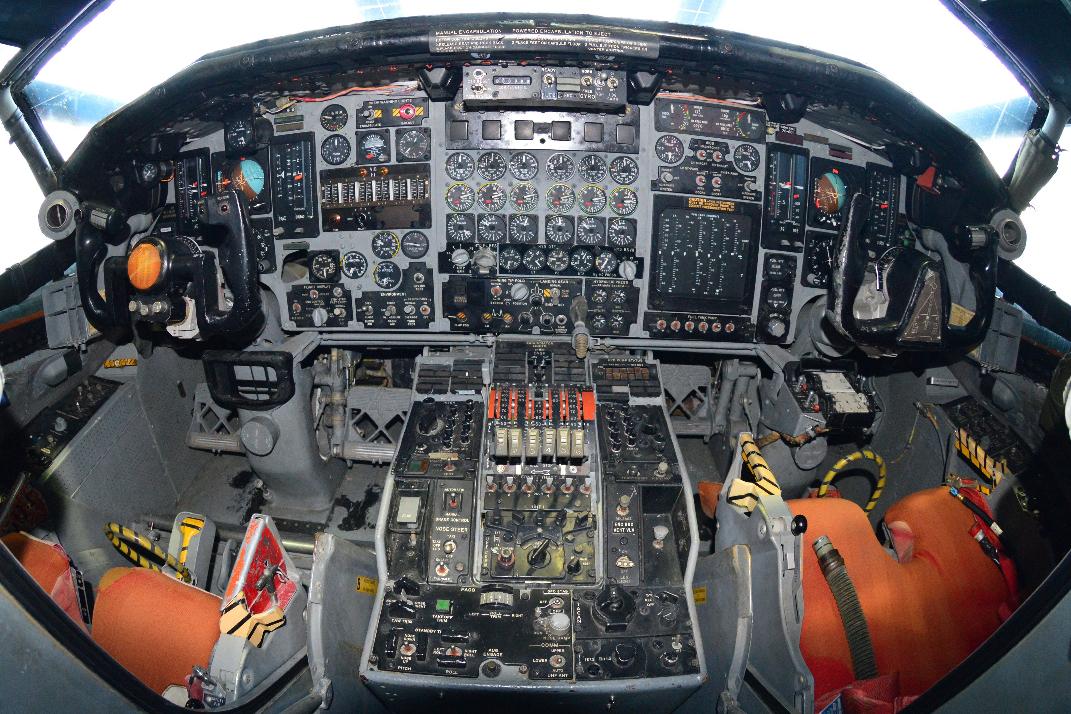 Cockpit Instrument Panel : Xb cockpit instrument panels north american a