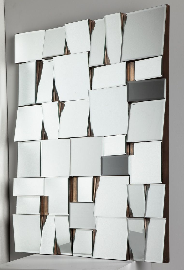 Armoire A Glace Leroy Merlin miroir à facettes. #miroir #tendance #homedecor #deco
