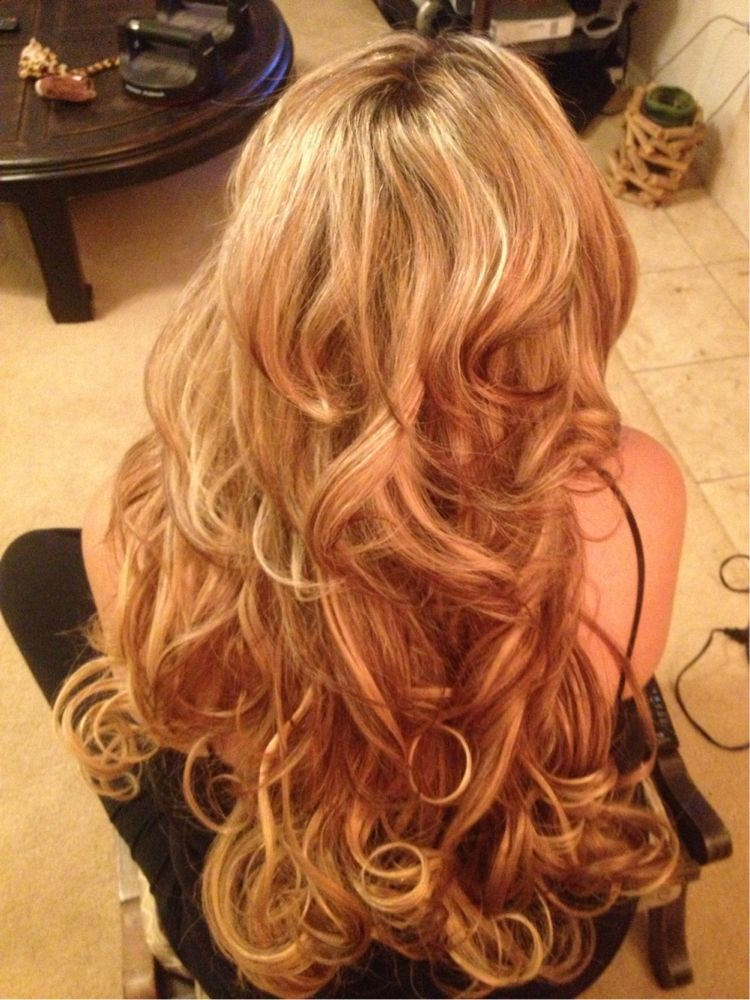 Inspiration by Lisa Jennings. #extensions #highlights   @bloomdotcom