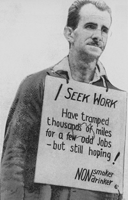 iconic image of the Great Depression Make Do and Mend