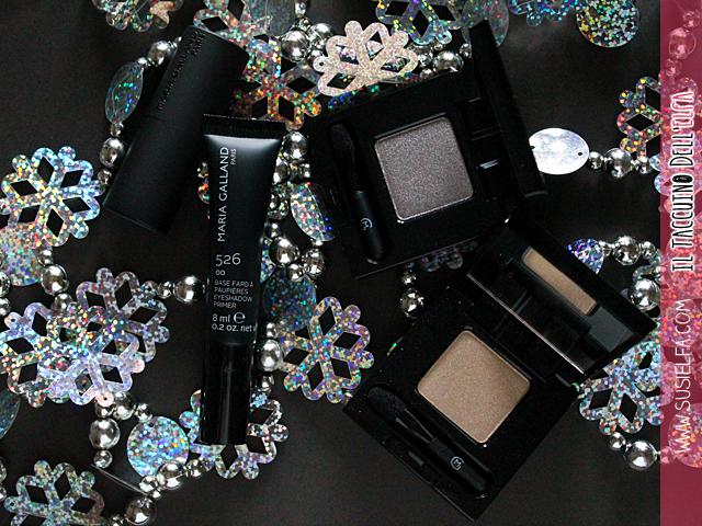 Il Taccuino dell'Elfa: Le Maquillage Séduction en Rouge Maria Galland selezione di prodotti