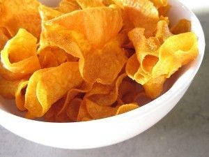 Addicted to snacks? Well here is a healthy option for potato chips. Easy to make and you can snack on them throughout the week