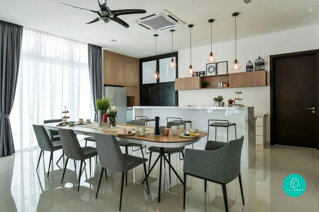 6 Gorgeous Landed Homes In Malaysia Dining Room Interiors Home Apartment Design