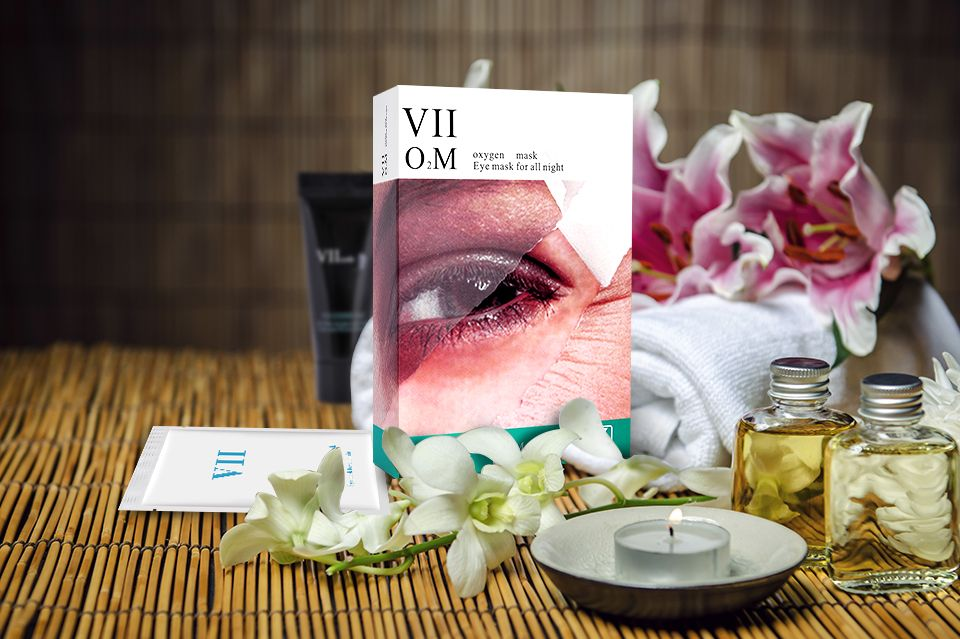 VIIcode O2M Oxygen Eye mask for all night.