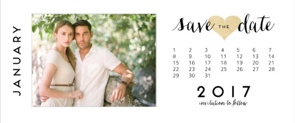 Print Photo Save The Dates
