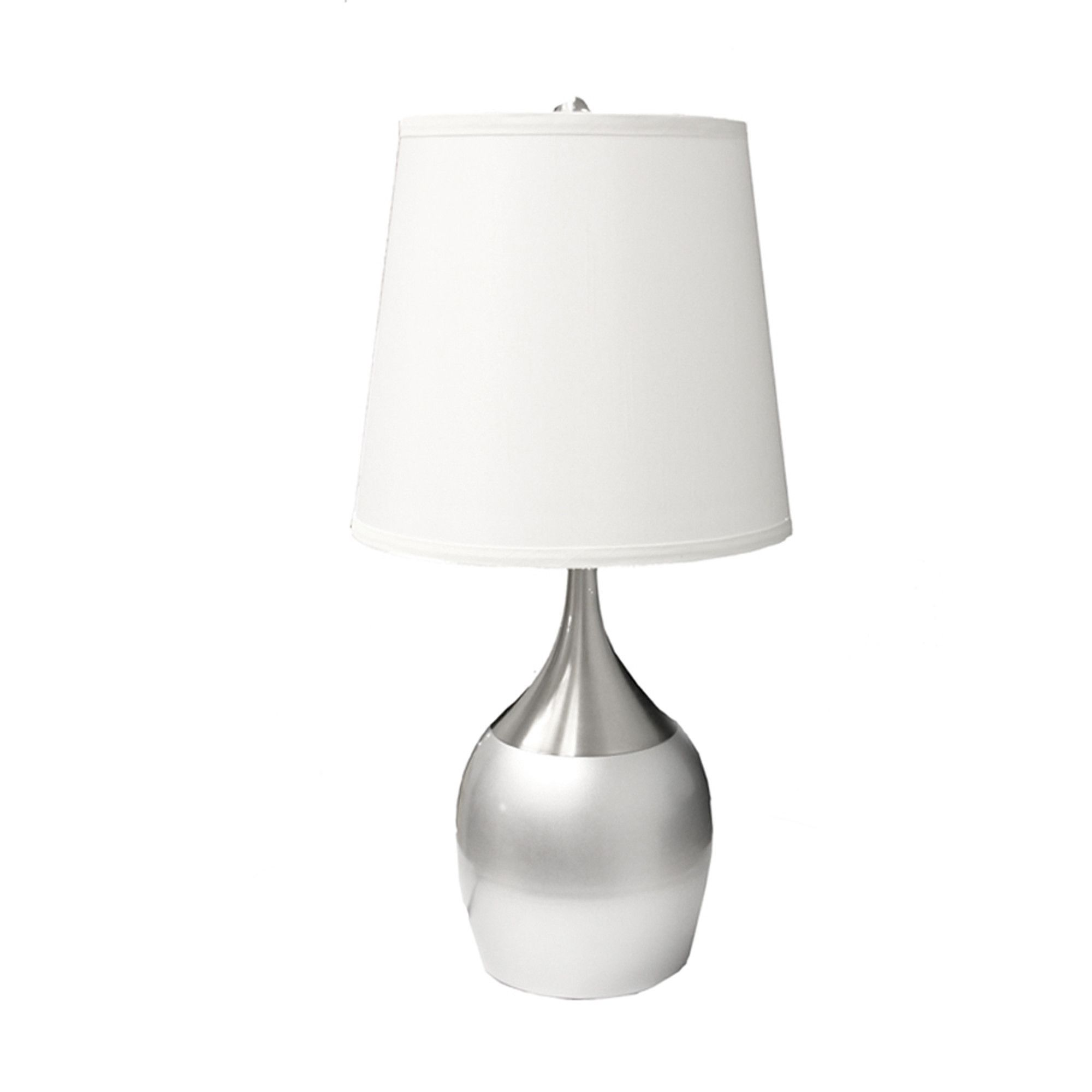 Bonaventure 25 Table Lamp Table Lamp Touch Lamp Silver Table Lamps