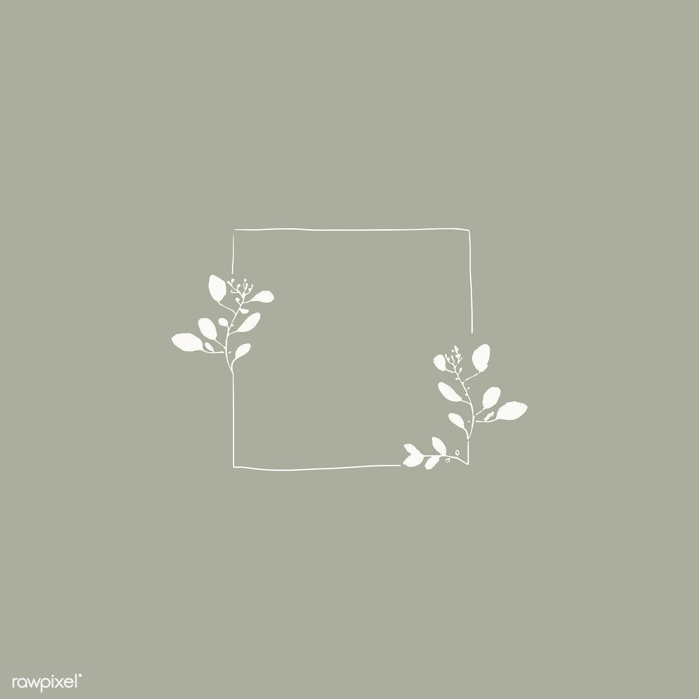 Photo of Download premium vector of Doodle floral wreath vector collection 843848
