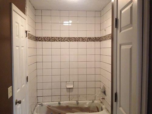 Retiling A Shower Shower Repair Bathrooms Remodel Shower