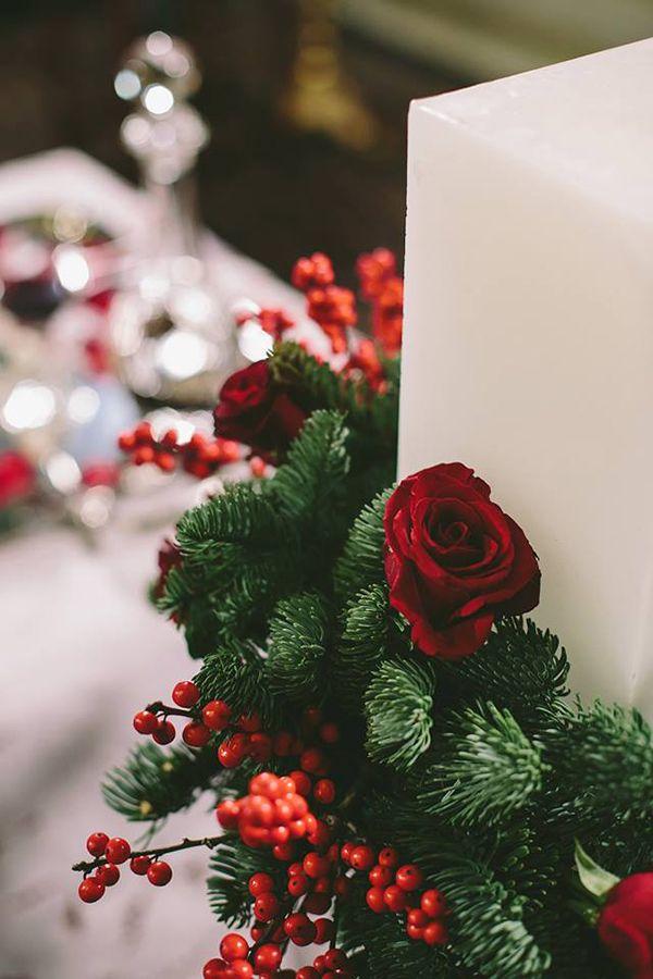 951e0577faec Stylish Χριστουγεννιατικος γαμος