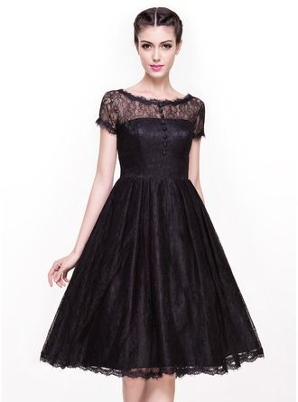 Knee Length Formal Cocktail Ballroom Dresses for Women