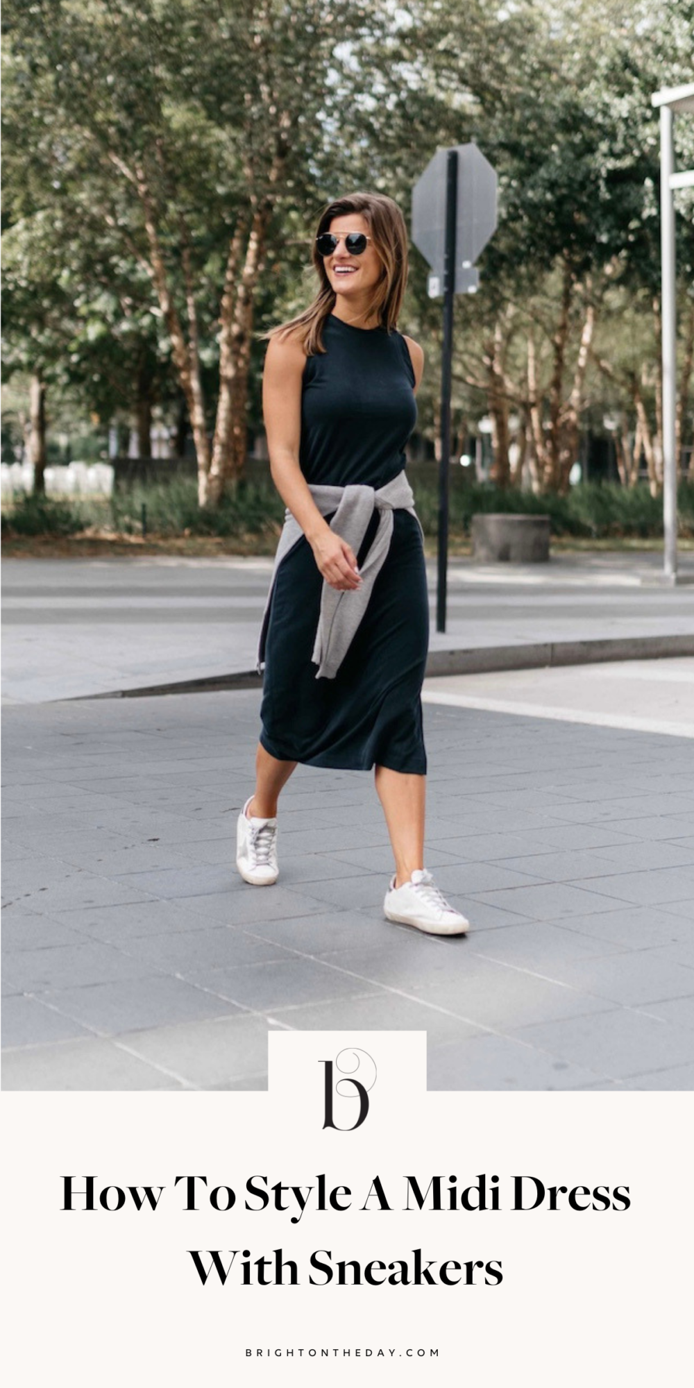 Casual Dress With Tennis Shoes And Top Wrapped Around Waist Google Search Dress With Sneakers Midi Dress With Sneakers Midi Dress Casual [ 2000 x 1000 Pixel ]