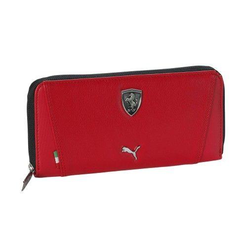 Ferrari Wallet With Zip Ferrari Store Wallet Small Leather Goods Zip