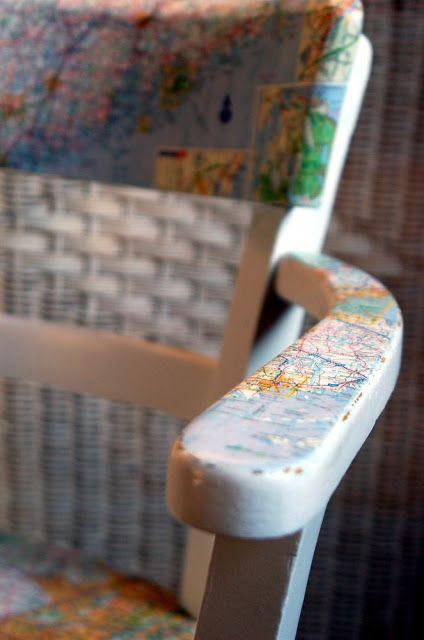 rosige Zeit: Map Chair
