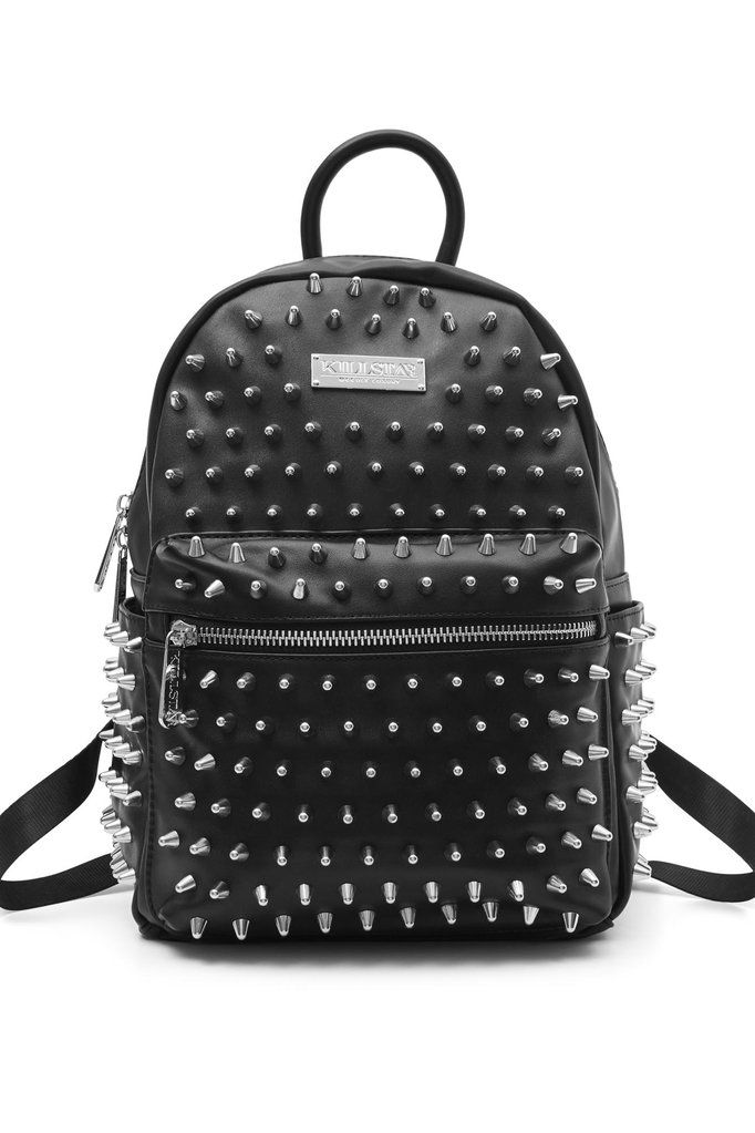 c357aee8c Ika Spiked Backpack [B] | KILLSTAR If you have a passion for all things  studded, 'IKA' is yer dreamy must-have - small and compact size but still  fits all ...