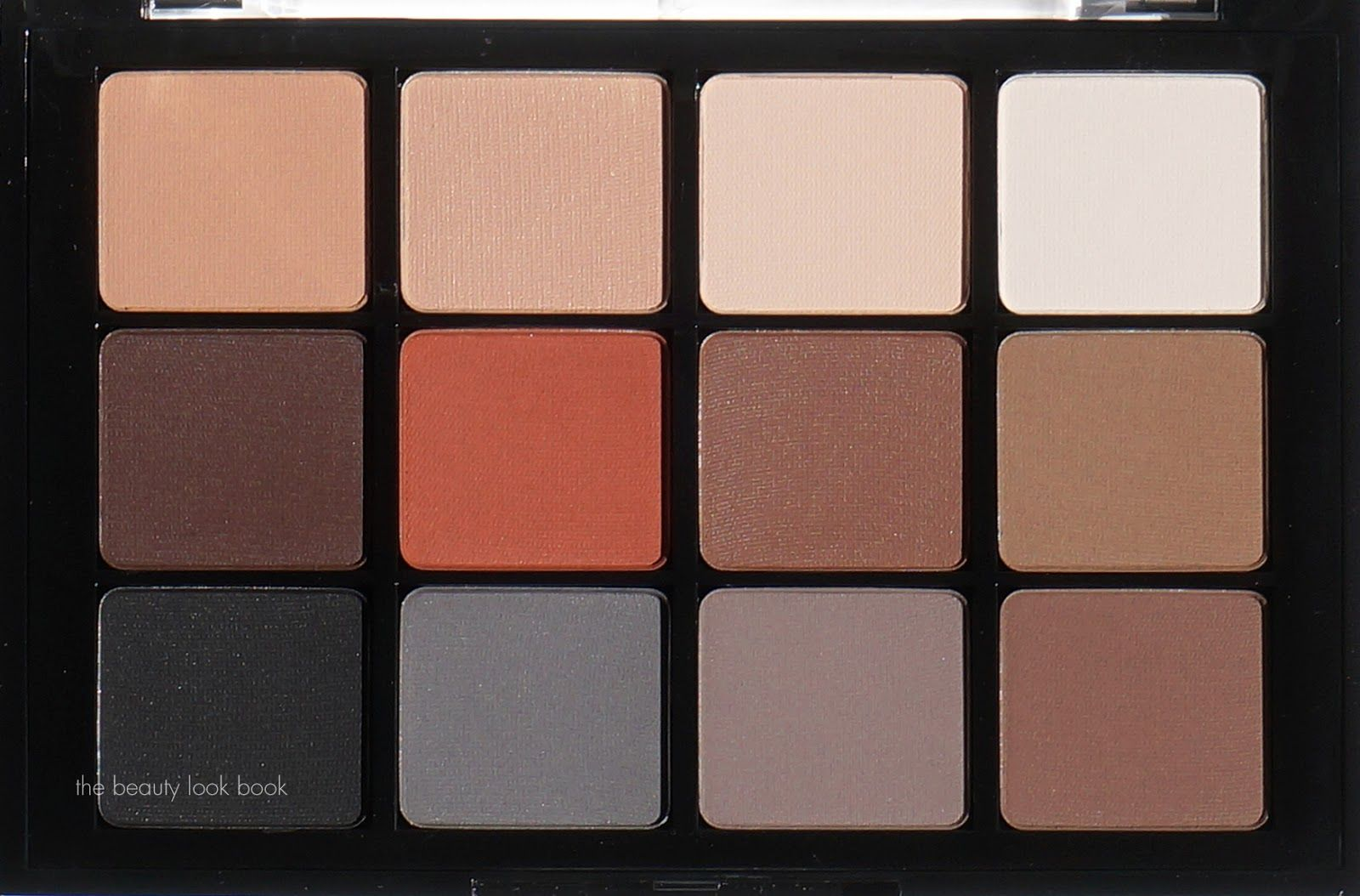 Viseart Eyeshadow Palettes in Neutral Matte and Sultry