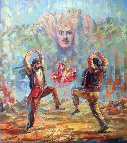 յարխուշտա Yarkhushta Painting Artist Art