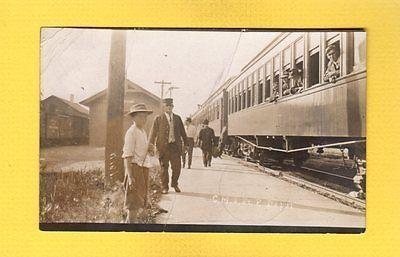 Rppc Kielmanitowoc Countywi Wisconsin Cm Stpaul Railroad Depot