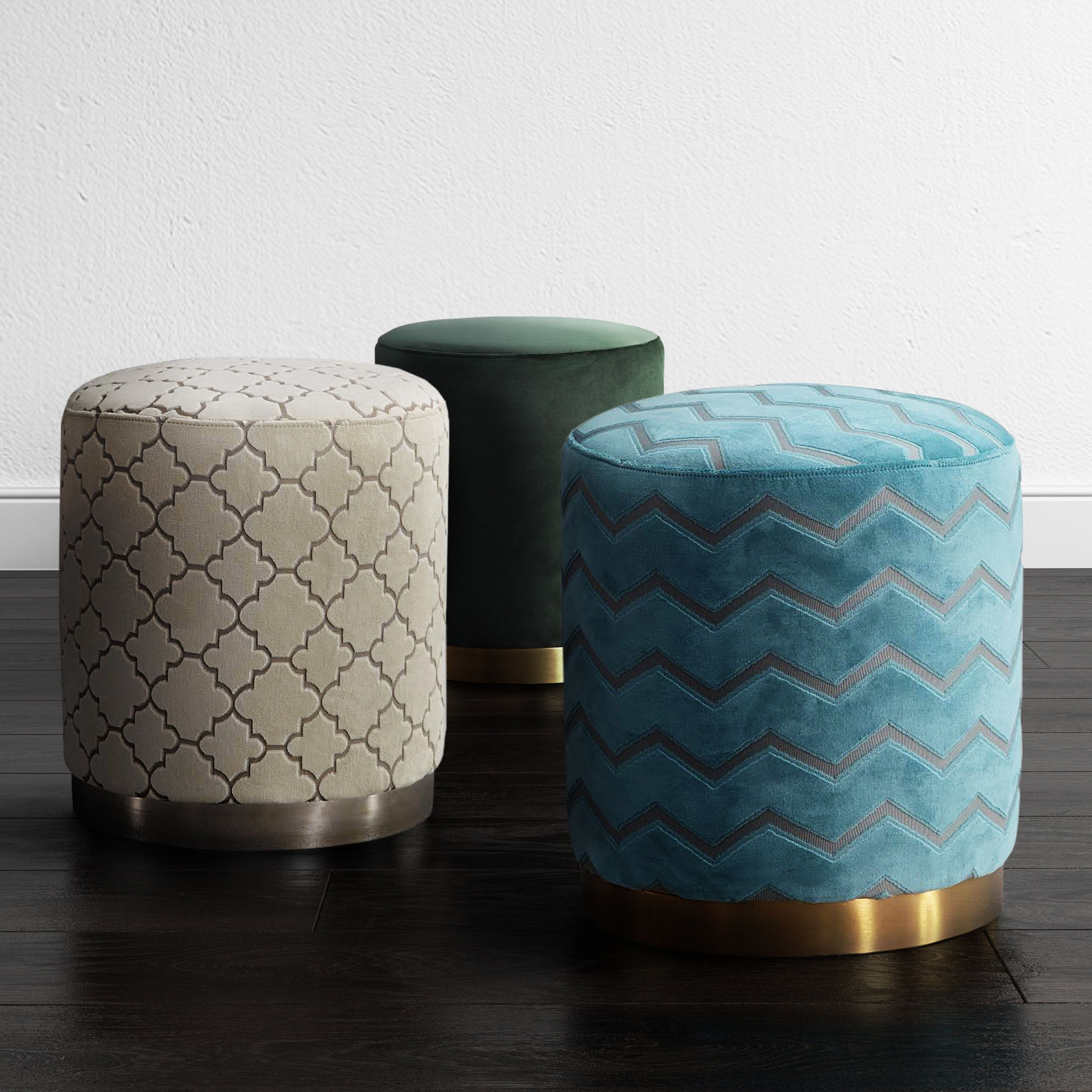 Strange Opal Cream Morrocan Ottoman Ivory Tov Furniture Home Cjindustries Chair Design For Home Cjindustriesco
