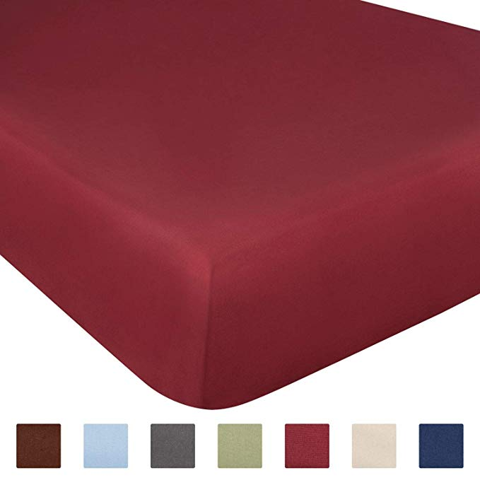 Amazon Com Queen Size Fitted Sheet Single Fitted Sheet Queen Queen Fitted Sheet Only Fitted Sheet Deep Pocket F Queen Mattress Fitted Sheet Queen Size