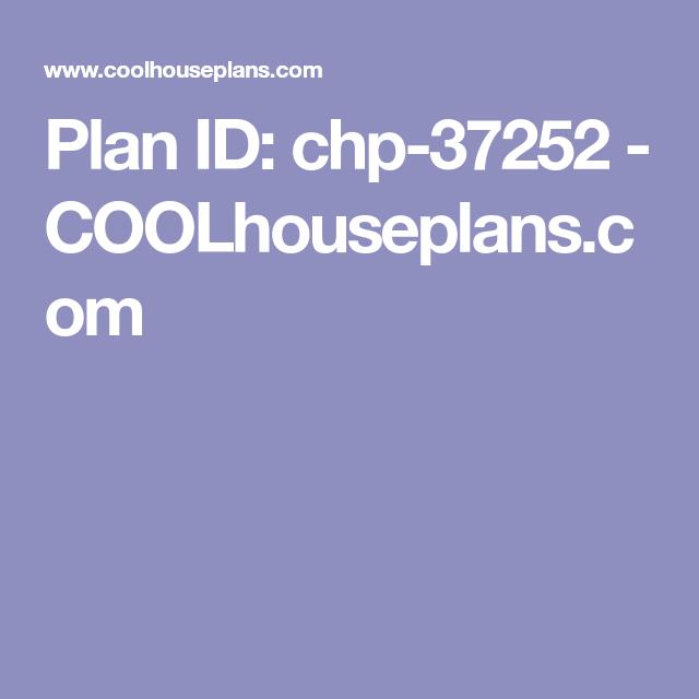 Plan Id Chp 37252 Coolhouseplans Com Best House Plans Country Style House Plans Bungalow Style House Plans