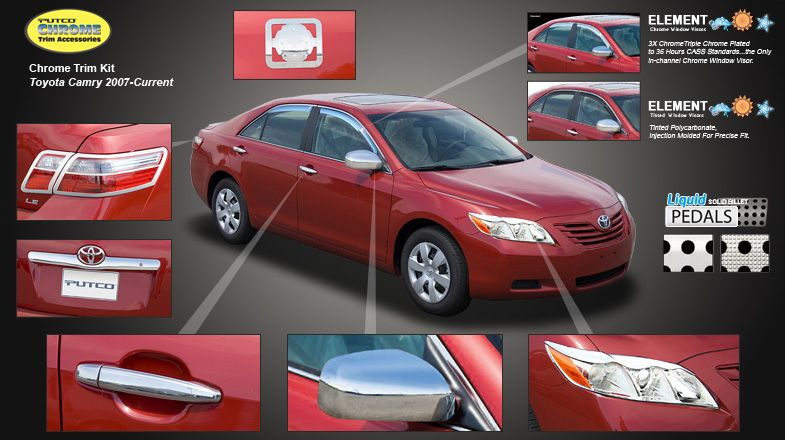 Toyota Camry Accessories >> Toyota Camry Chrome Accessories Toyota Accessories Toyota Camry
