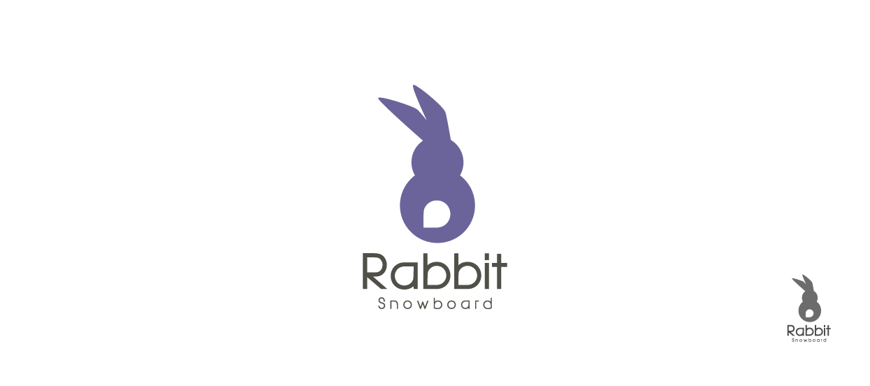 Product Brand Design For Rabbit Snowboard I The Rabbit Sat There In