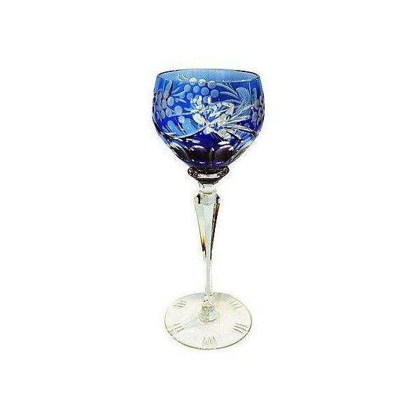 Bohemian Crystal Wine Glass (5.495 RUB) ❤ liked on Polyvore featuring home, kitchen & dining, drinkware, barware, czech crystal wine glasses, bohemian wine glasses, bohemian crystal wine glasses, crystal wine glasses and crystal wine glass