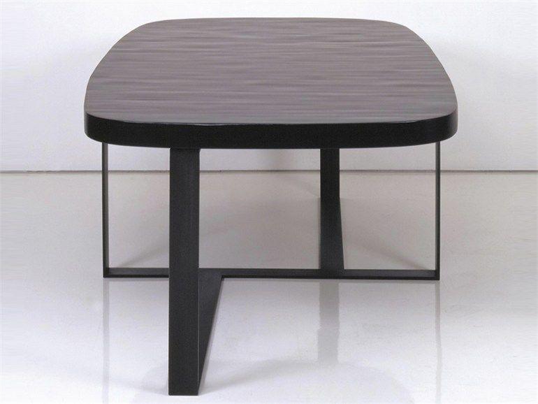 Table ovale à manger en bois NEPAL | Table - INTERNI EDITION