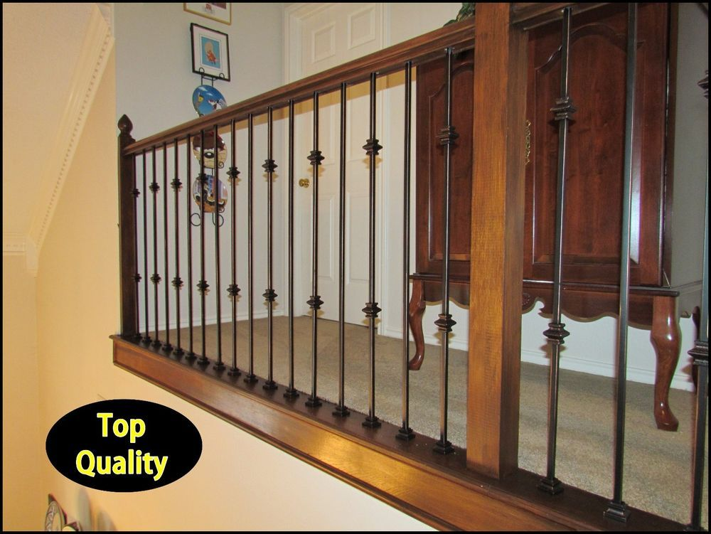 Oil Rubbed Copper Iron Balusters For Stairs And Balconies   Iron Stair Parts
