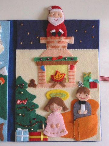Az ezüsthajú angyalka - karácsonyi ujjbáb készlet és mini ...