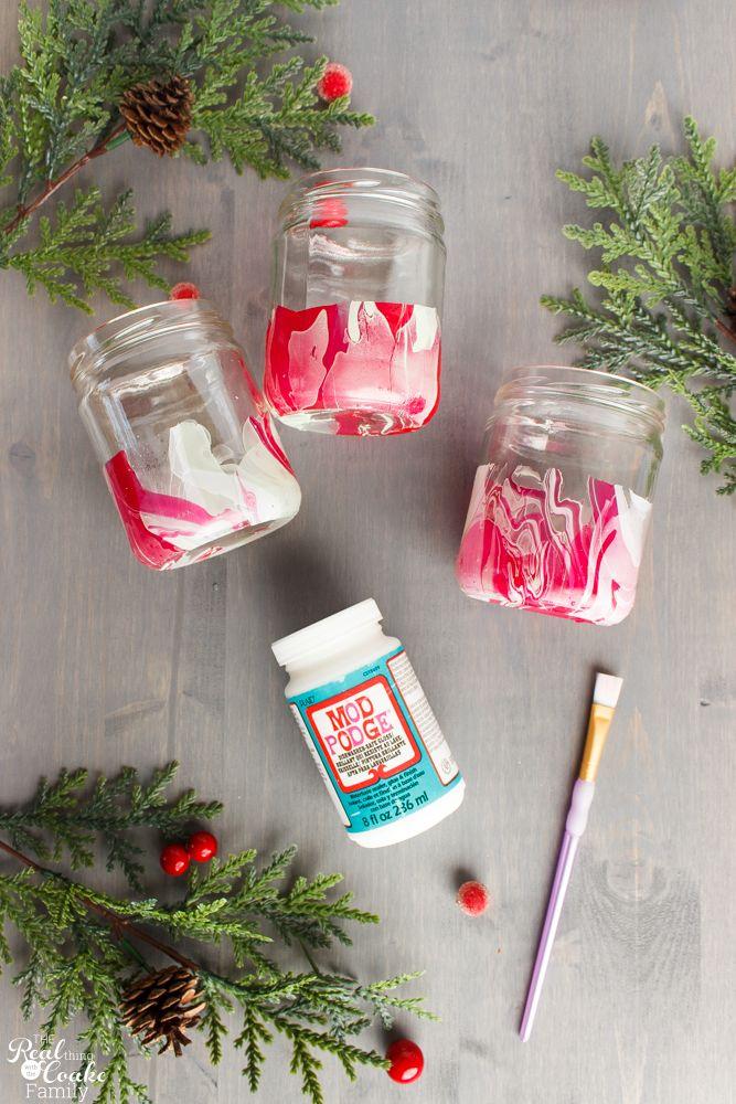 Addictively Fun  Pretty DIY Christmas Home Decor Idea Nail polish - christmas home decor