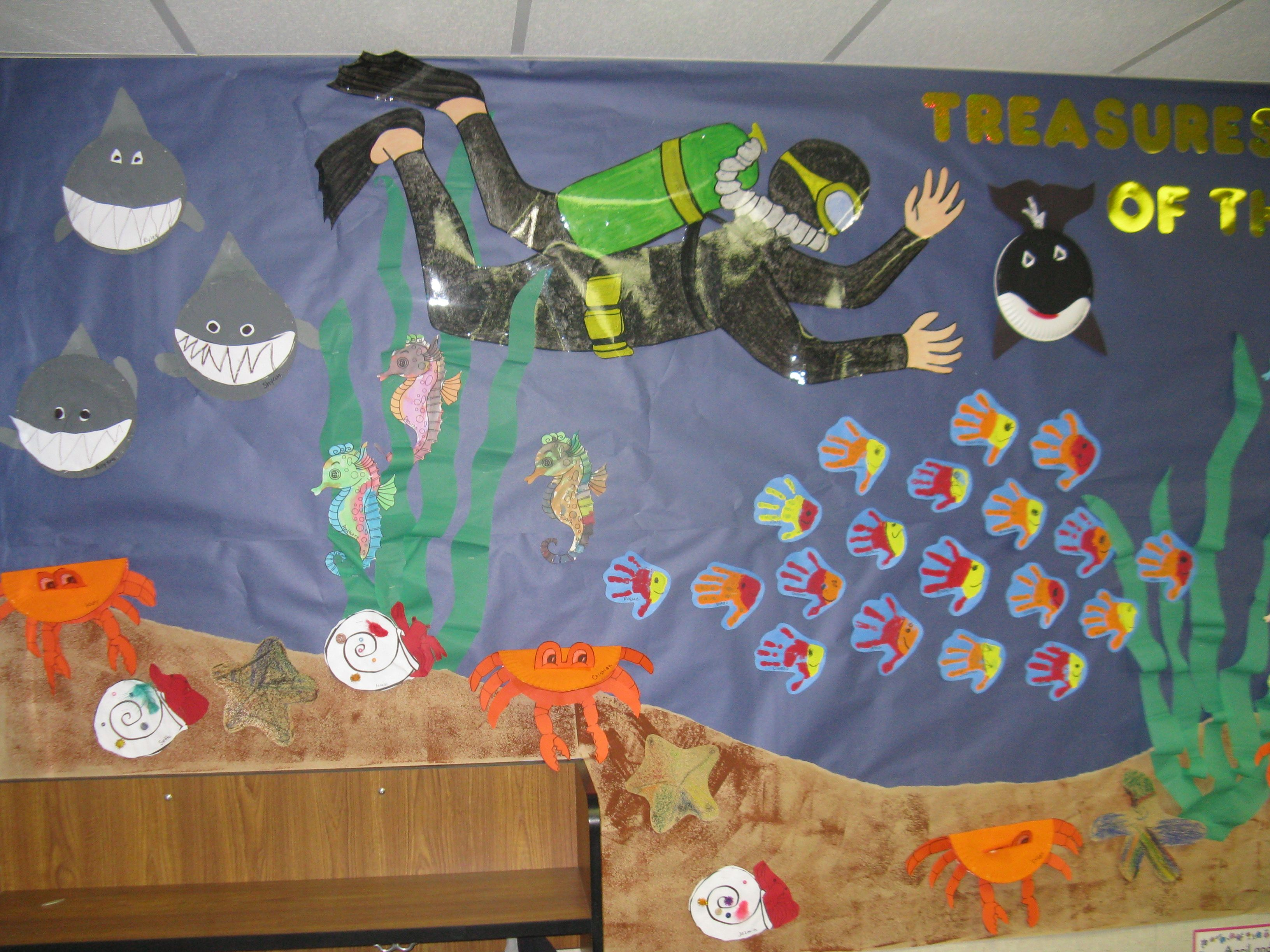 Science Bulletin Board Ideas Oceans
