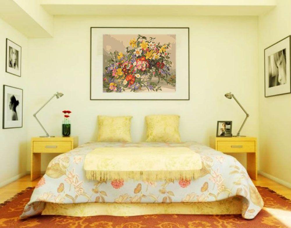 Картина по номерам «Весенние цветы» (с изображениями ...