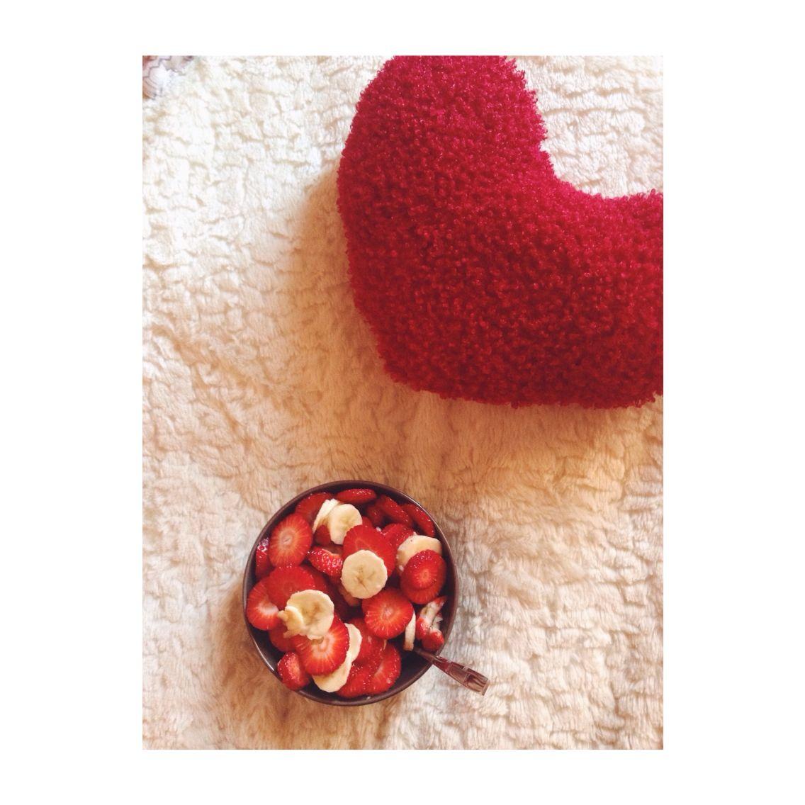 Strawberry Letter 22 Food Pinterest