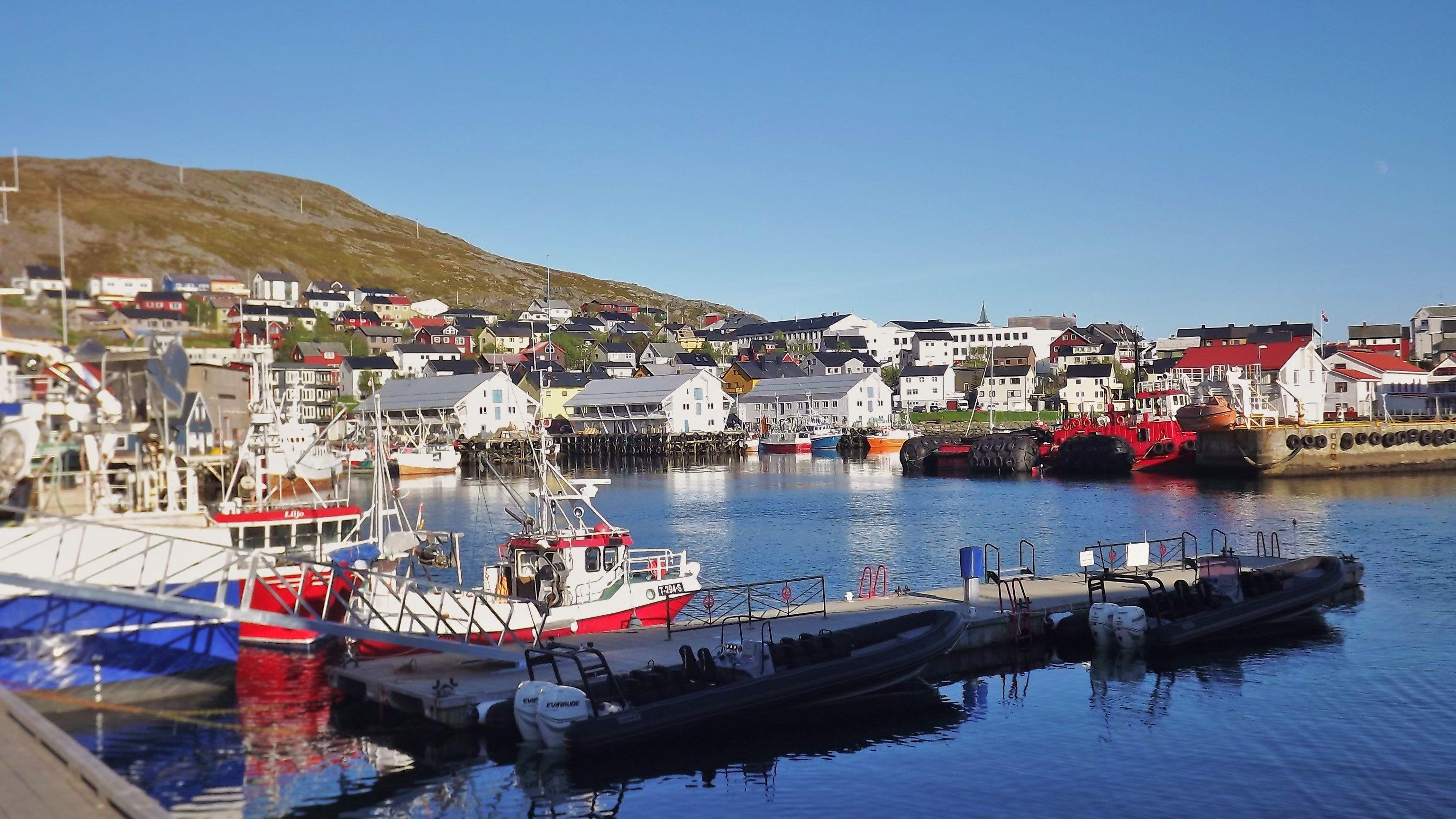 Honningsvåg in Finnmark