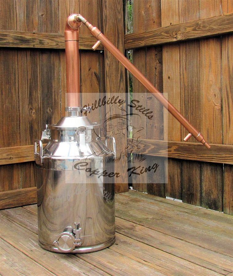 8 Gallon Copper Moonshine Still Kit   Whiskey   Moonshine ...