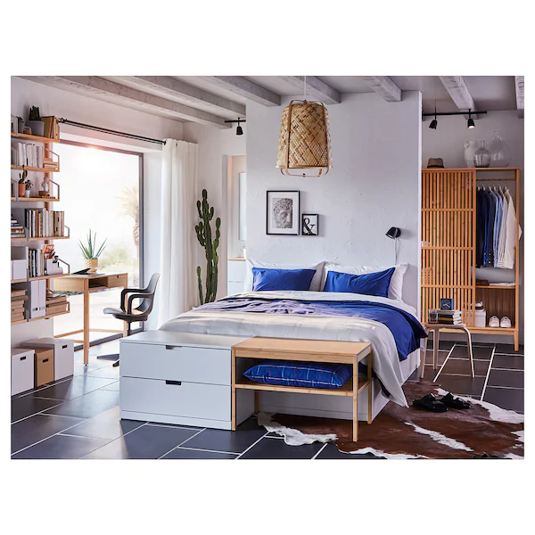 Photo of Lampada a sospensione KNIXHULT – bambù – IKEA