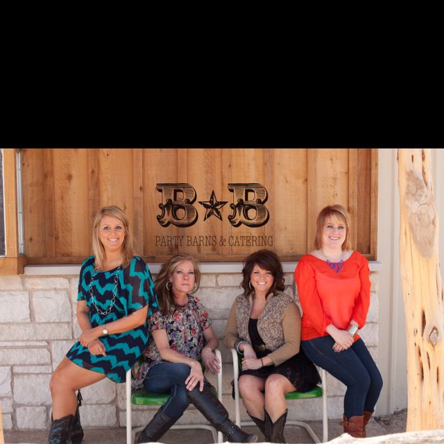 The Women Of Double B Party Barns Catering In Lubbock Texas Www Doublebpartybarns Com Company Party Party Business Women