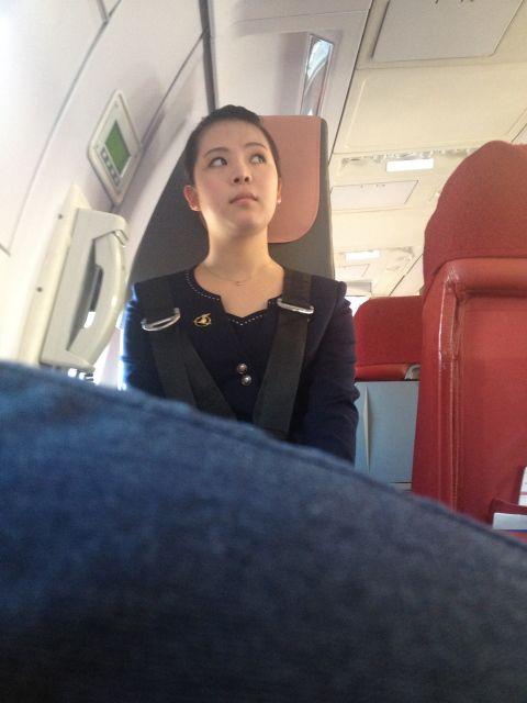 Air Koryo North Korean Flight Attendant 高麗航空 北朝鮮 高麗