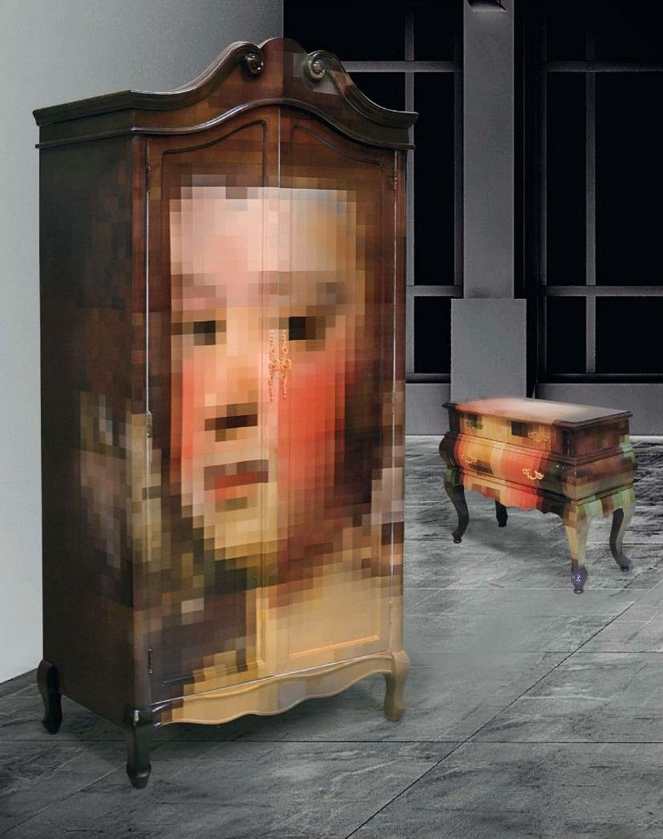 Unconventional Pixel Furniture Adding Intrigue to Modern Rooms