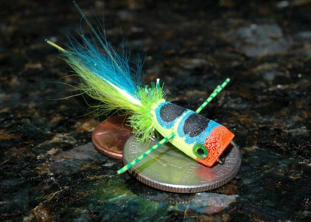 Deer hair popper fly tying pinterest fly tying fly for Fly fishing poppers