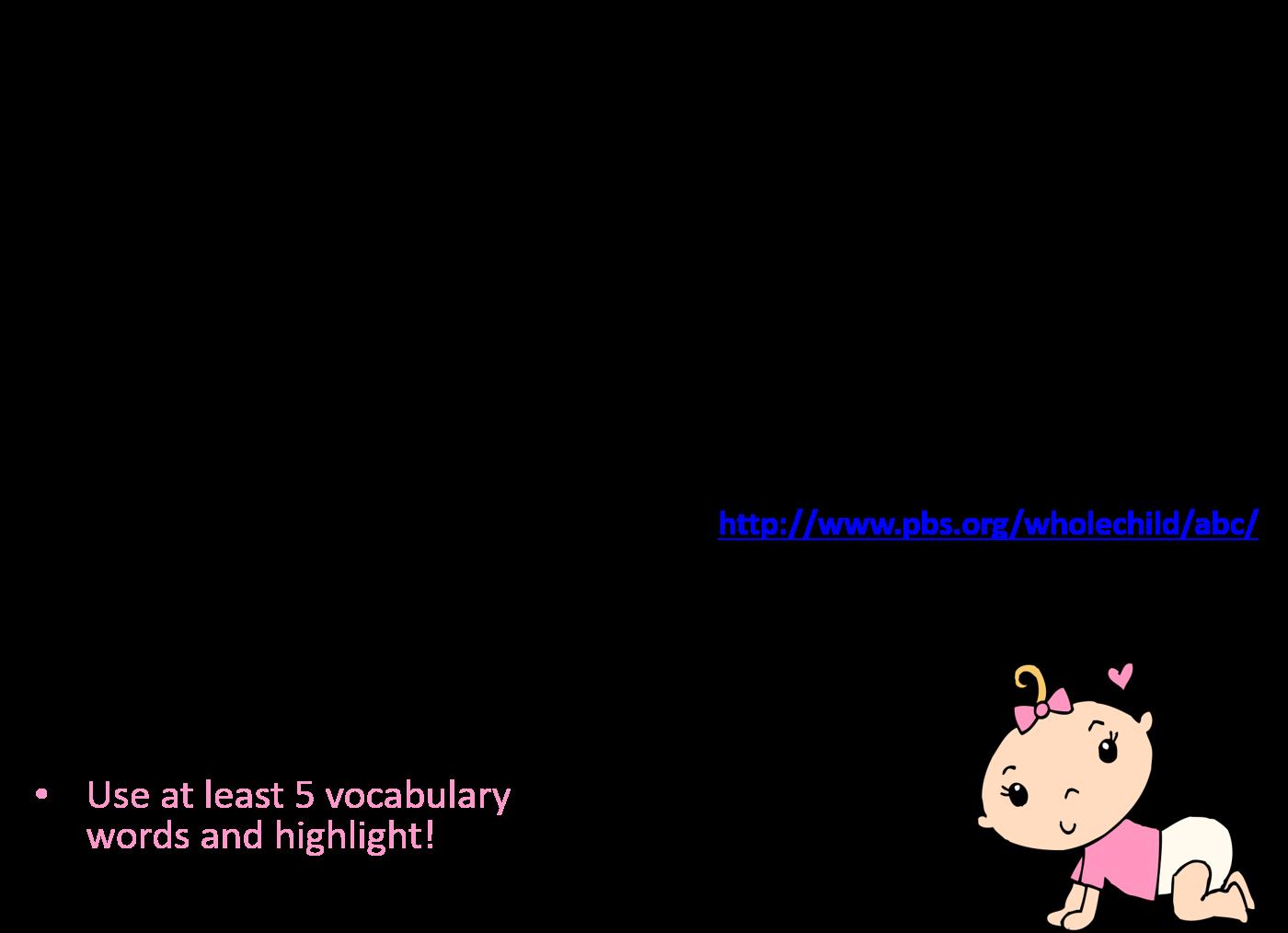 Infant Toddler Development Activity