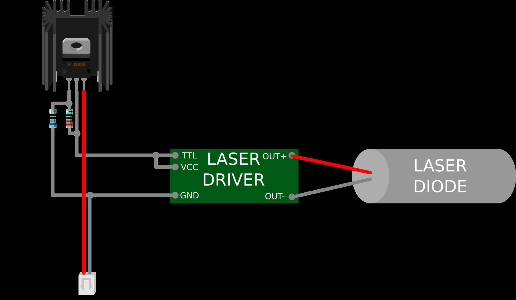 laser engraving machine wiring diagram wiring diagram operations anet a8 3d printer laser engraver mod lokster [ 2064 x 1202 Pixel ]