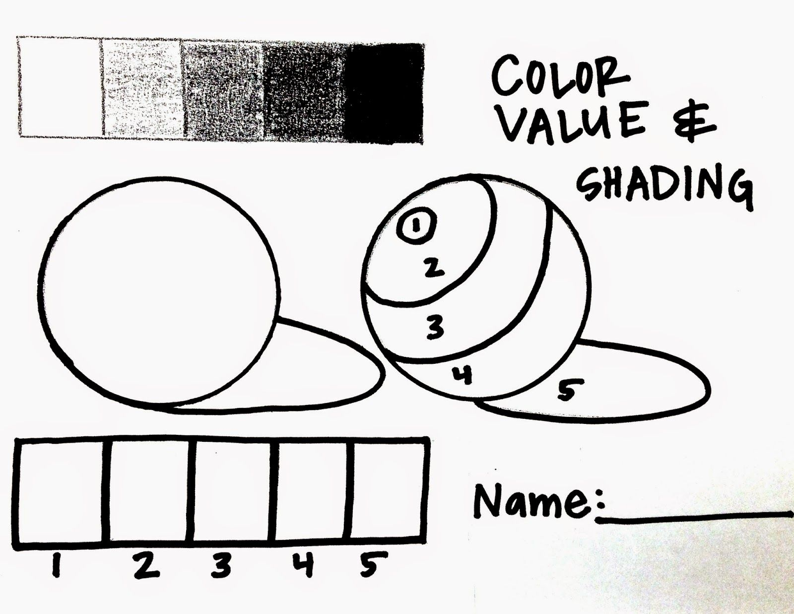 I Have Had Quite A Few People Ask Me About The Handouts I Used To Do This Color Value Lesson So