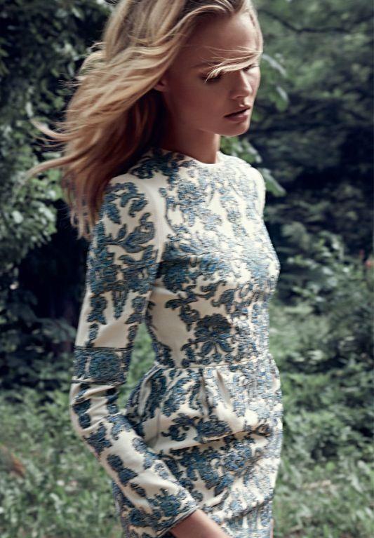 Magdalena Frackowiak for September Issue of Elle Poland.