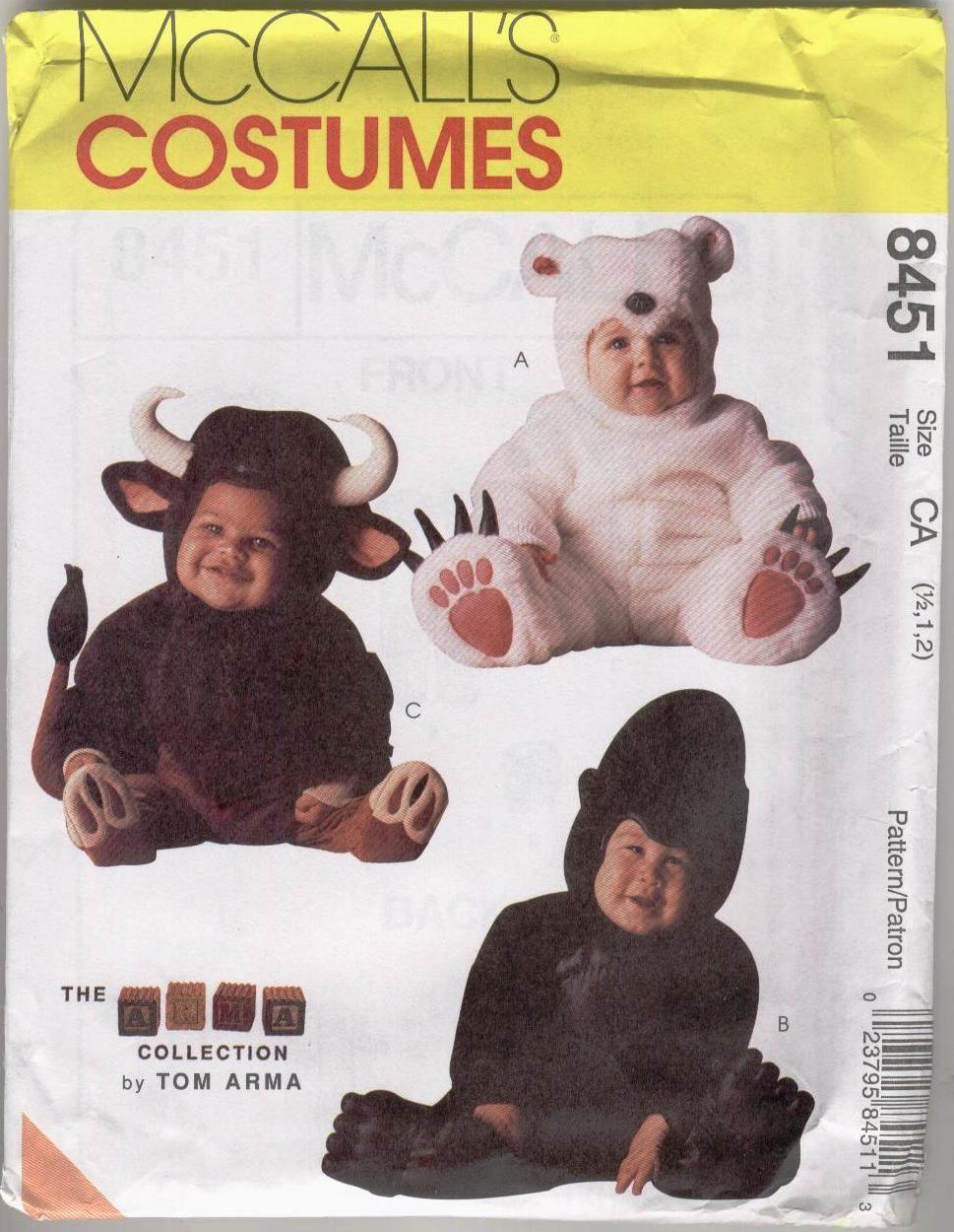 Toddler steer costume   Tom Arma Toddler Gorilla Bull Polar Bear Costume Pattern 1  sc 1 st  Pinterest & Toddler steer costume   Tom Arma Toddler Gorilla Bull Polar Bear ...